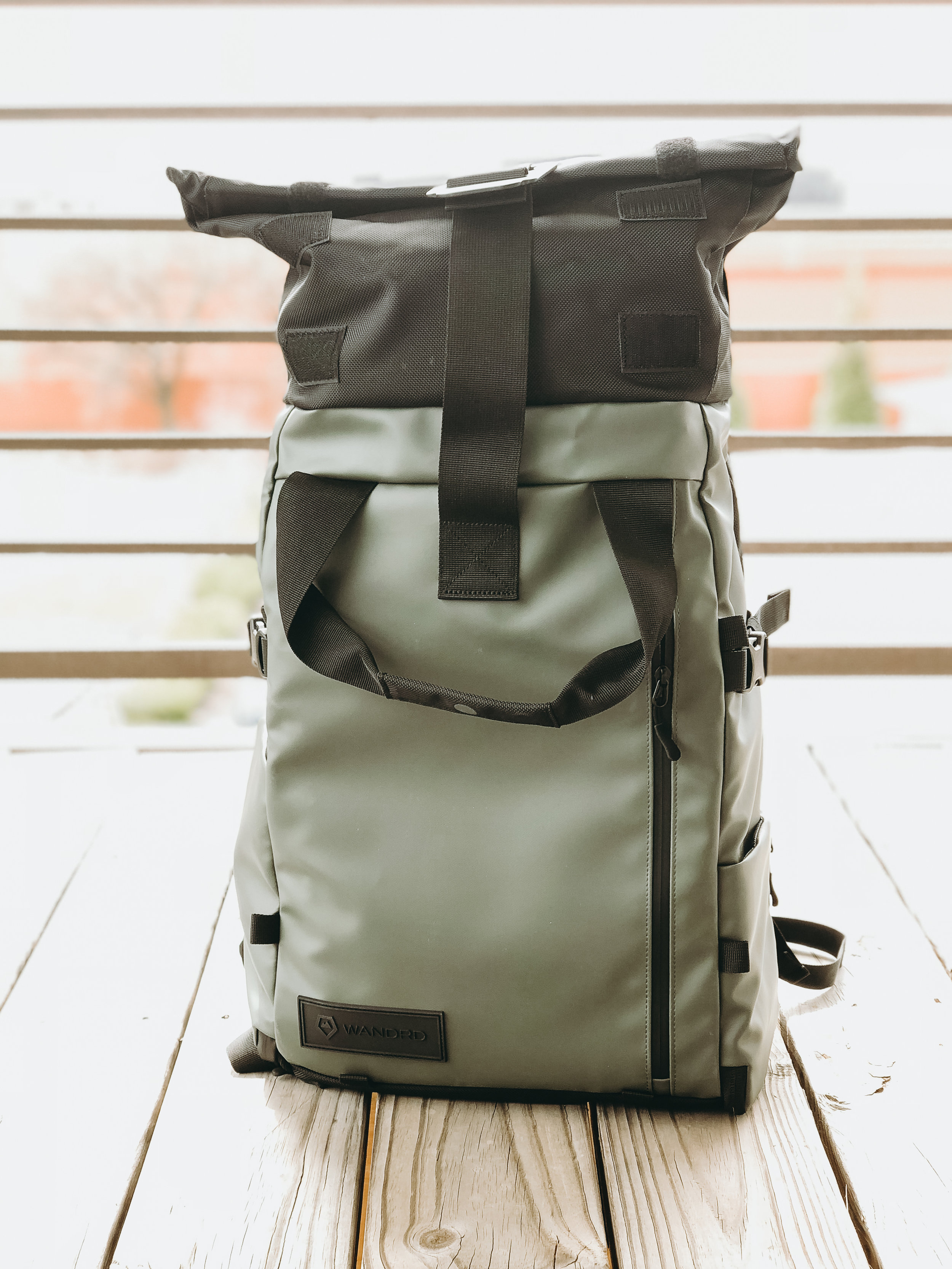 This is the bag with all the gear and water housing.