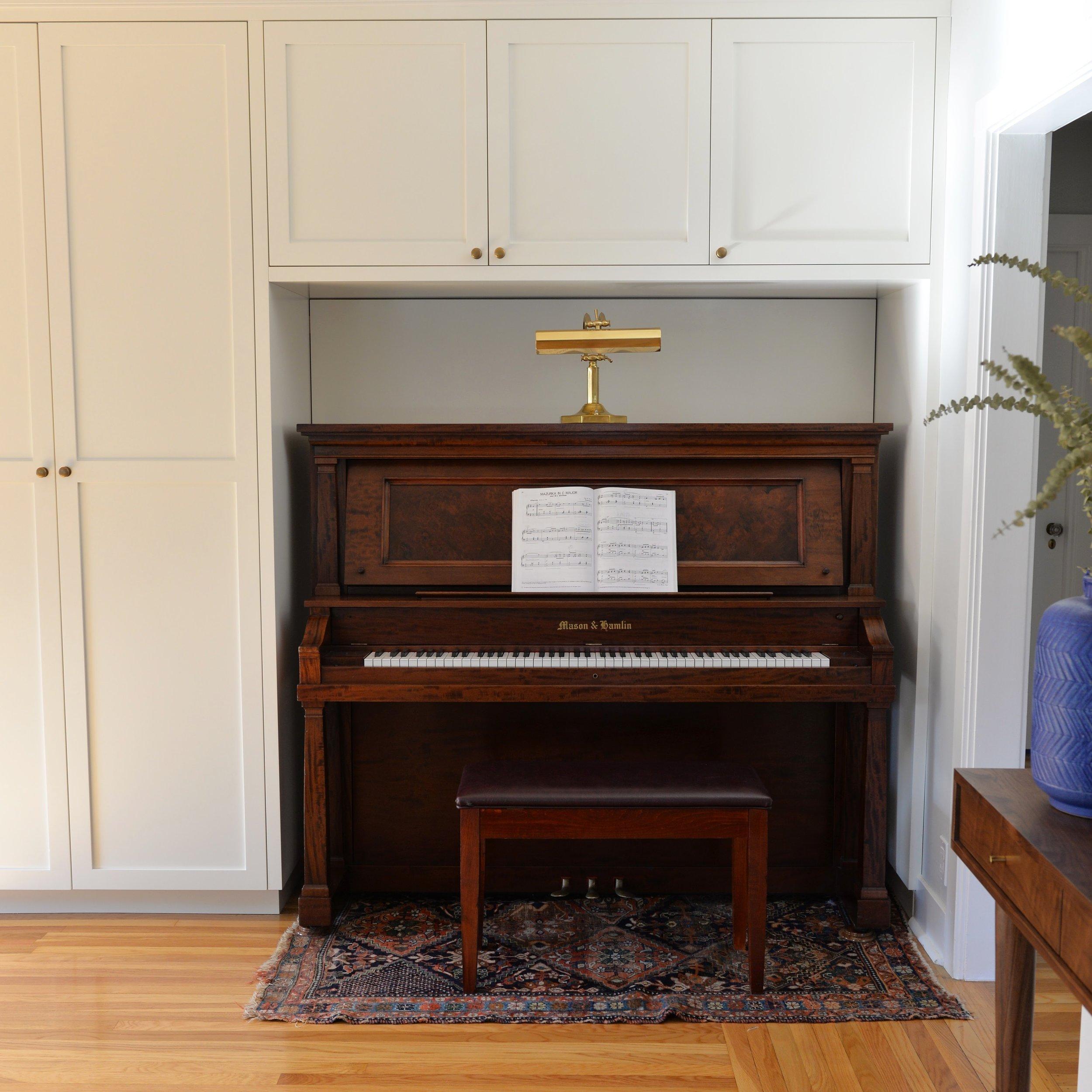 The whole piano