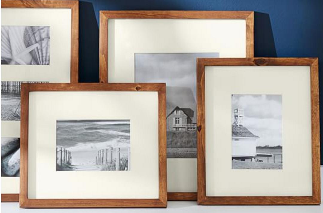 Wood art frames
