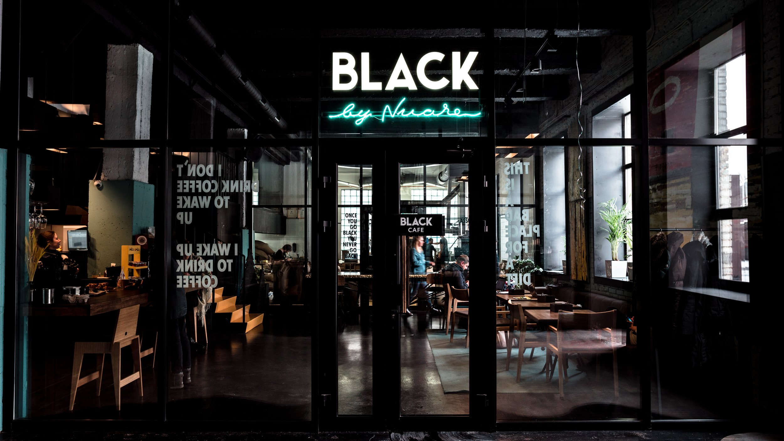 Neon Sign Coffee Shop
