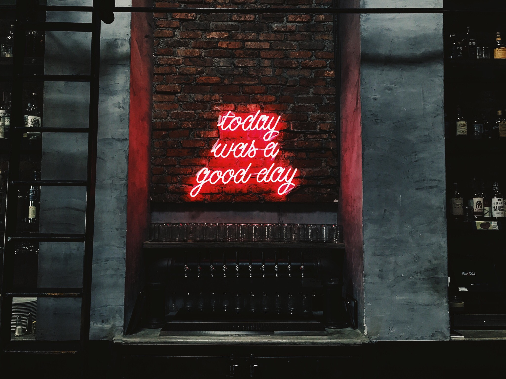 Today Was a Good Day Custom Neon Sign