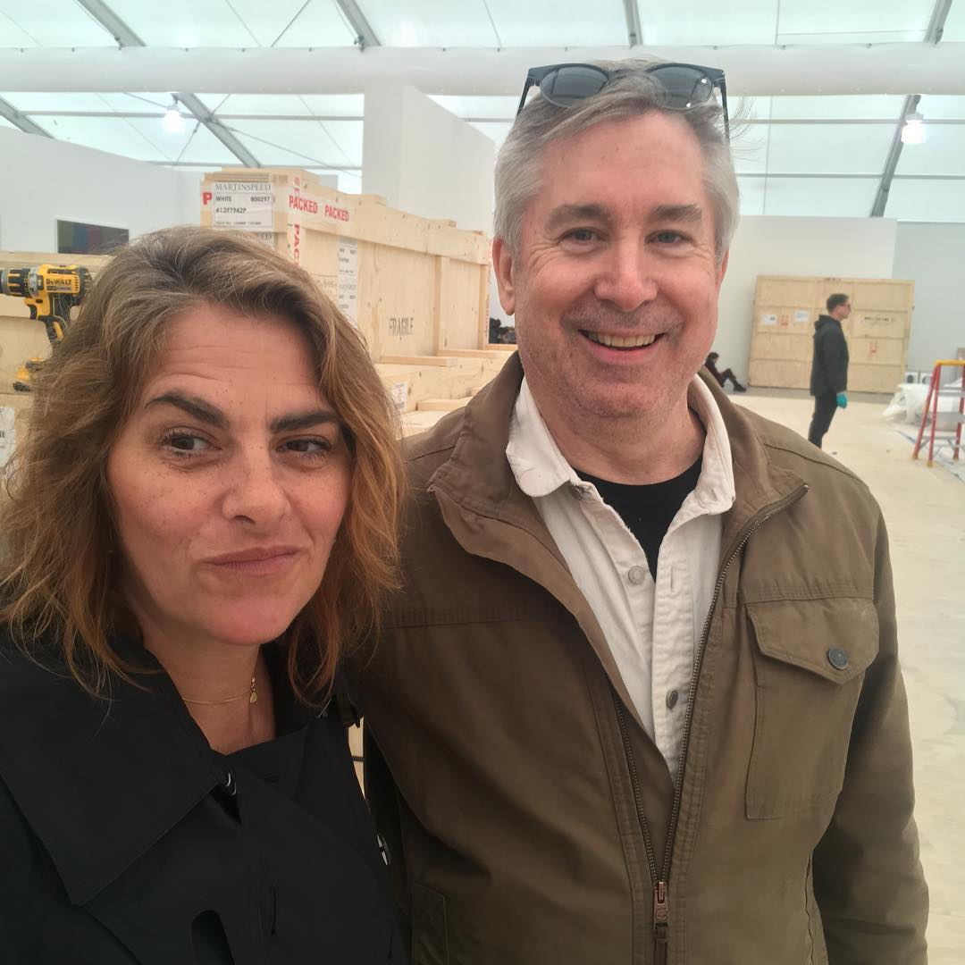 Clif Eddens and Tracey Emin.jpg