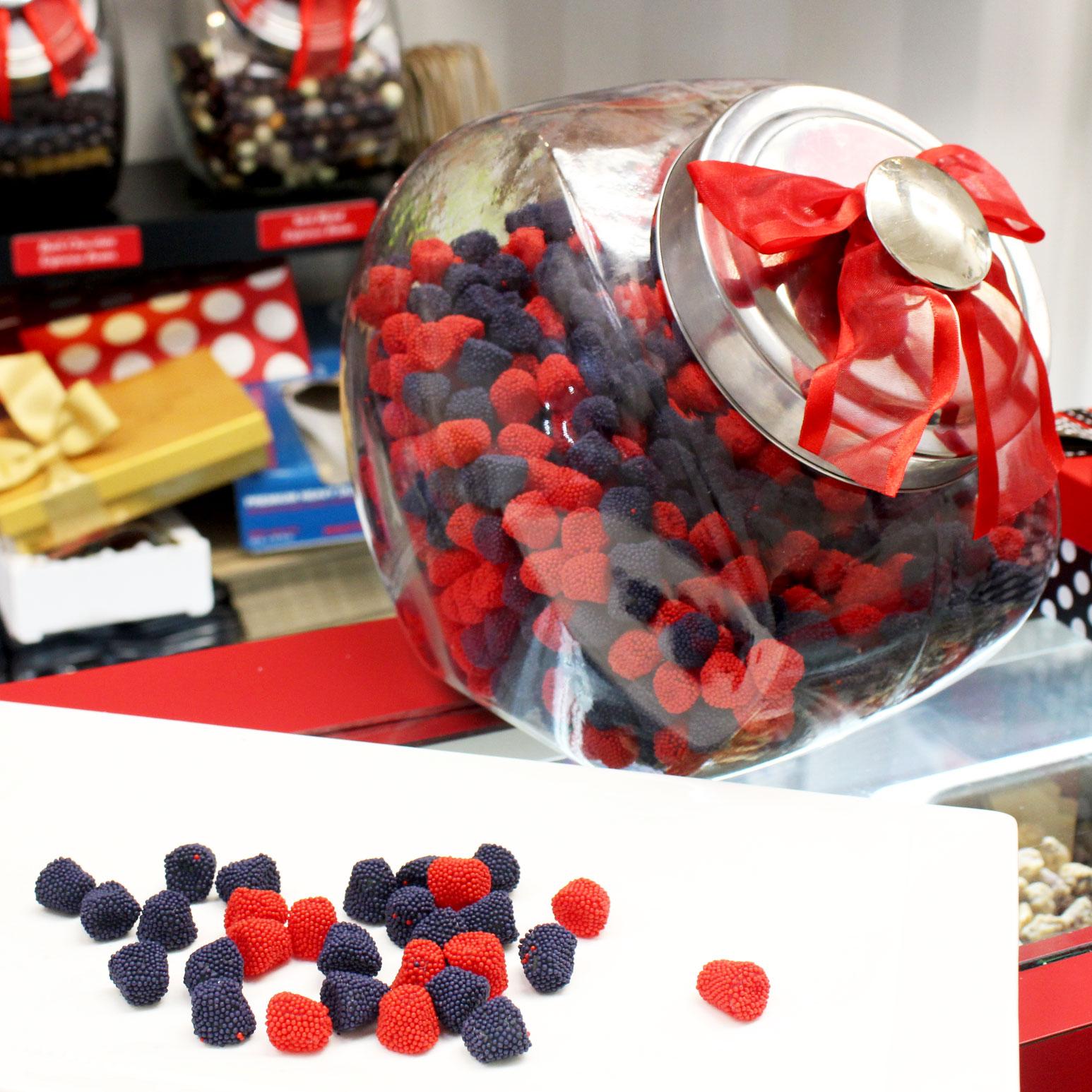 Raspberries and Blackberries -