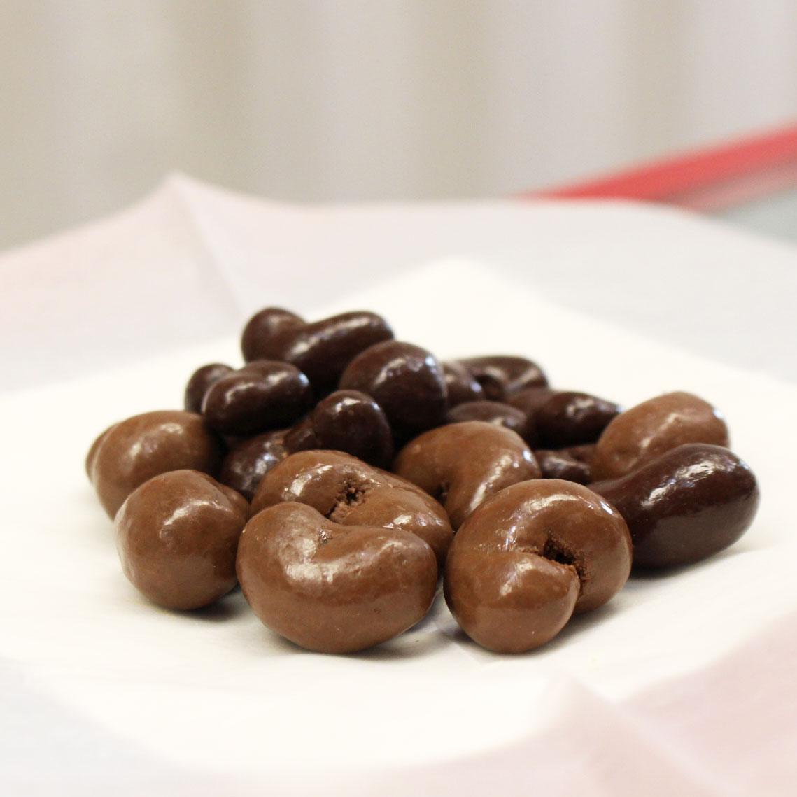 Dark and Milk Chocolate Cashews -