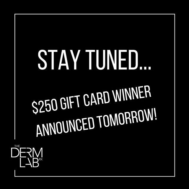 Winner announced tomorrow! 💉👏 • • • • • #thedermlabrx #maytheoddsbeeverinyourfavor #gilbertinjector #chandlerinjector #phoenixinjectables #gatherloft #chandlerliving #cosmeticinjector #bestinjector #gilbertlashes #chandlerlashes