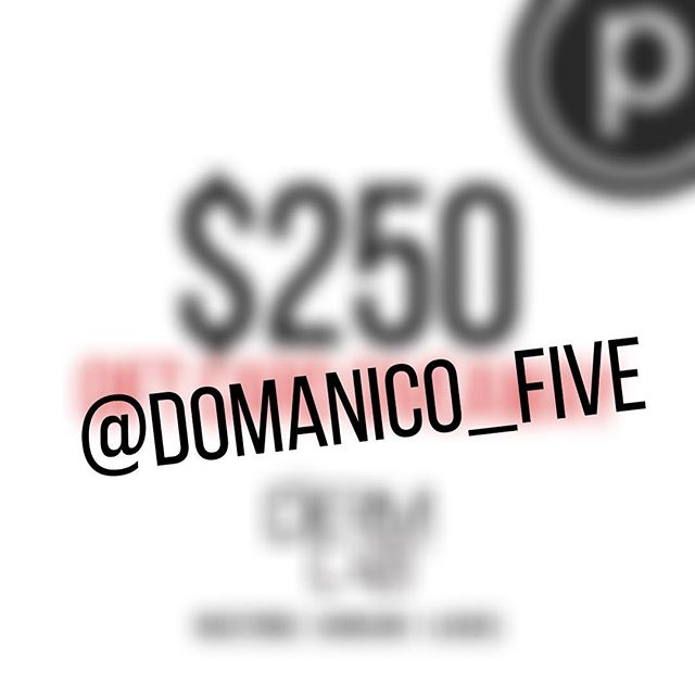Congratulations to @domanico_five for winning the $250 gift card to The Derm Lab Rx! 👏🎉