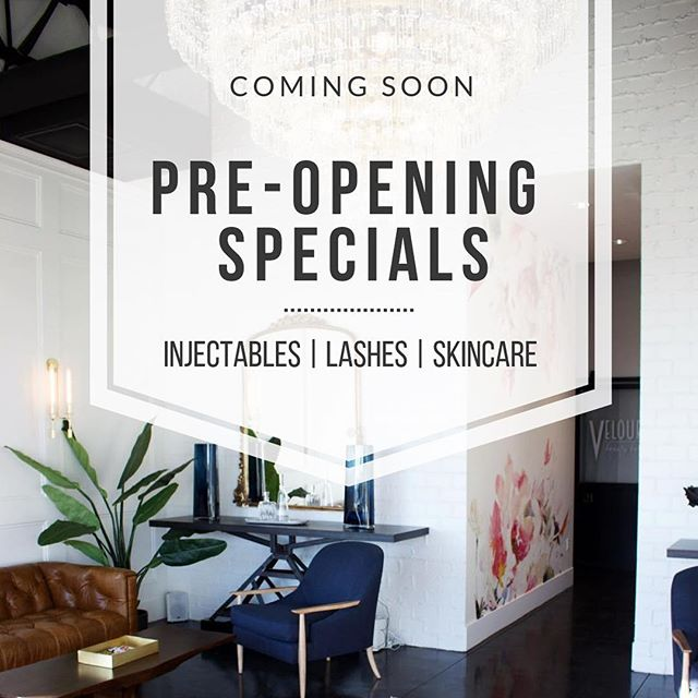Stay tuned for our 🎉PRE-OPENING SPECIALS🎉as we get ready to bring the best in aesthetics to the East Valley! • We will be offering treatments and services at heavily discounted prices for a limited time. Invest in yourself and take time for YOU! ✨🙌💯❤️ • • • • #thedermlabrx #gatherloft #comingsoon #ocotillofriends #livingchandler #chandlerliving #gilbertinjector #chandlerinjector #phoenixinjector #chandlerfacials #gilbertfacials #gilbertlashes #chandlerlashes #treatyoself #youtime #Botox #gilbertskincare #chandlerskincare