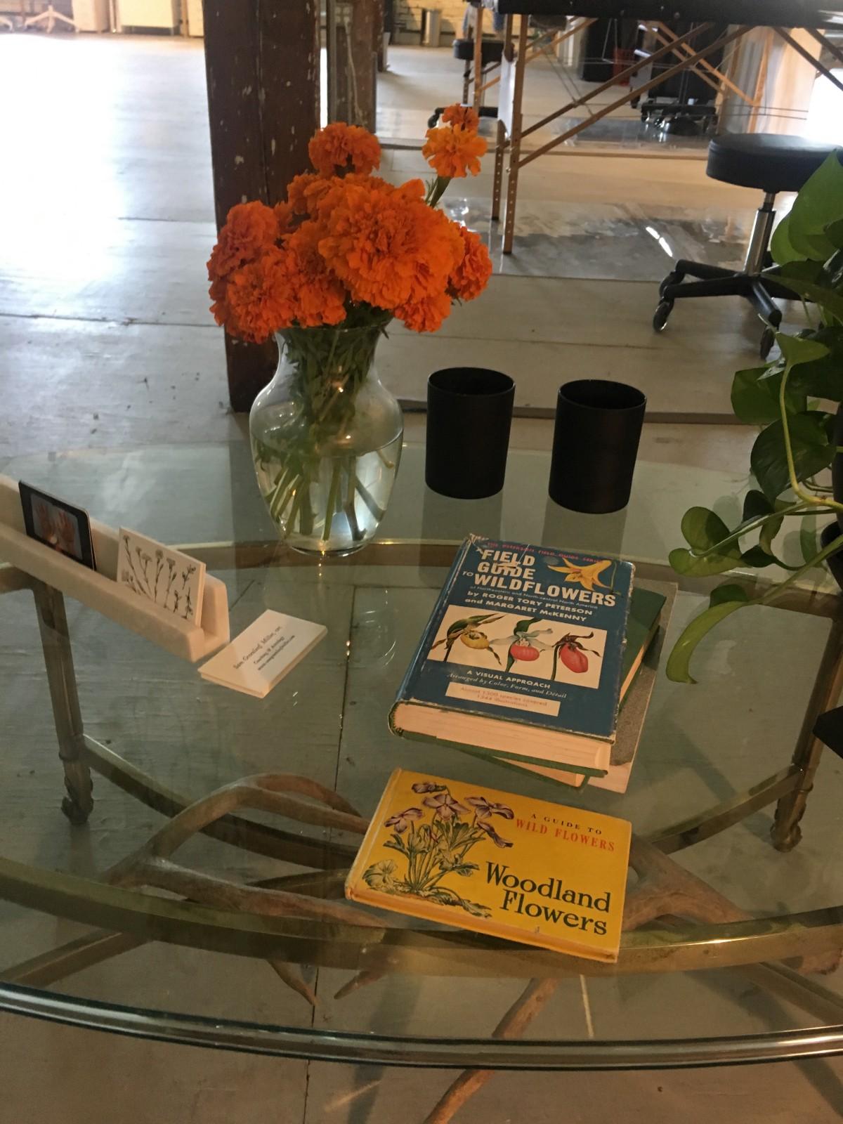 Tea Leigh and Welcome Home Studio in Brooklyn.