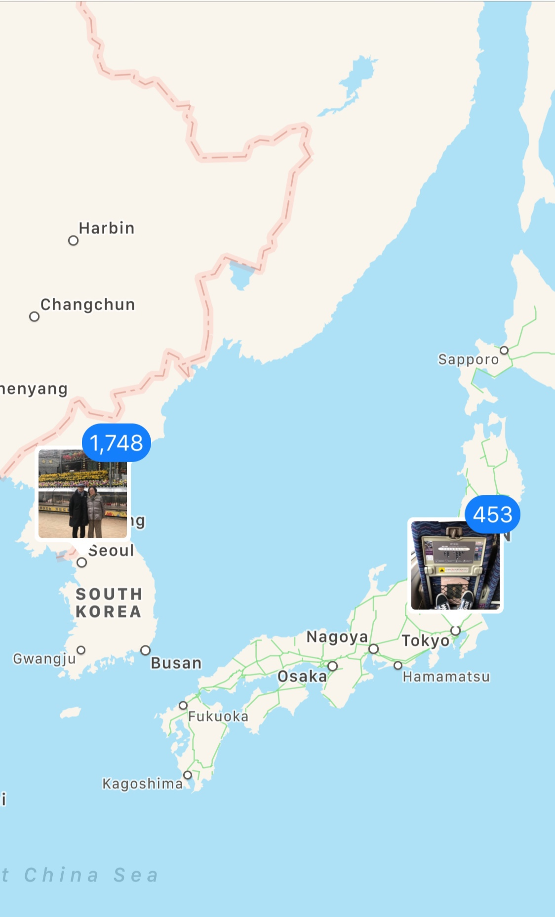 Destinations I hit abroad in 2018: South Korea and Japan