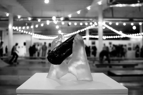Glass work by Rosalin Strange