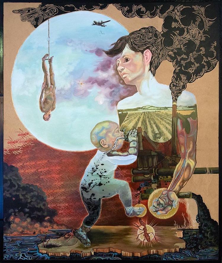 Artwork by Alexa Alarcon