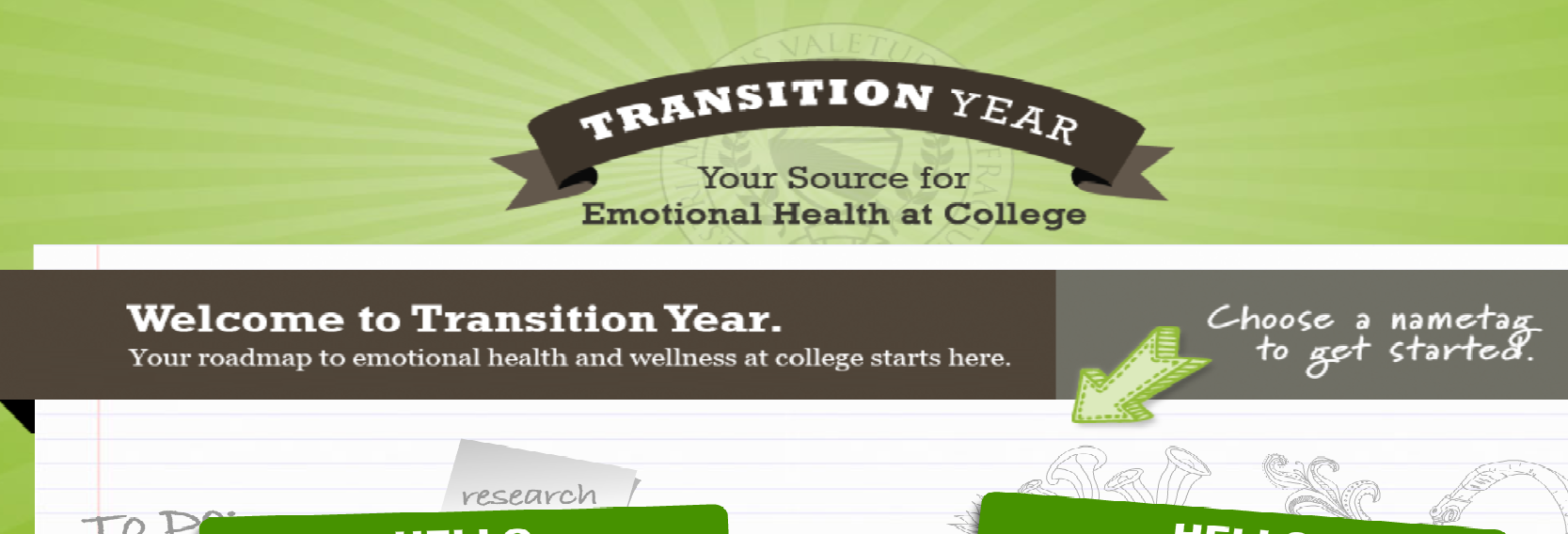 http://www.transitionyear.org/