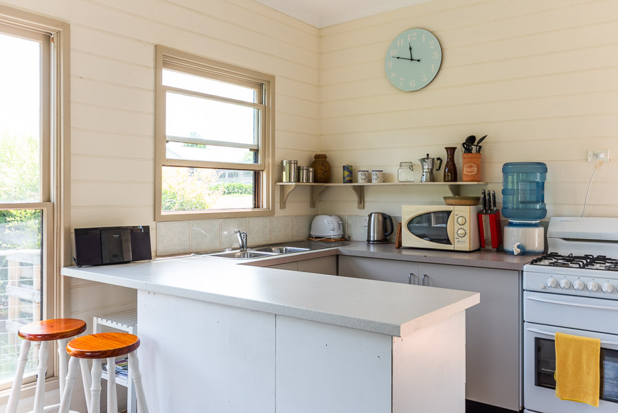 The Dolphin Cottage: Kitchen.