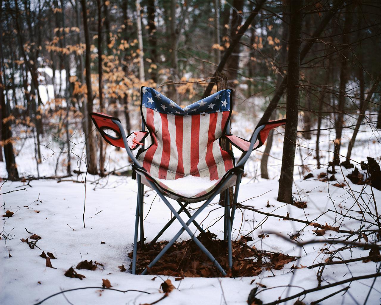 American Flag Chair, 2013
