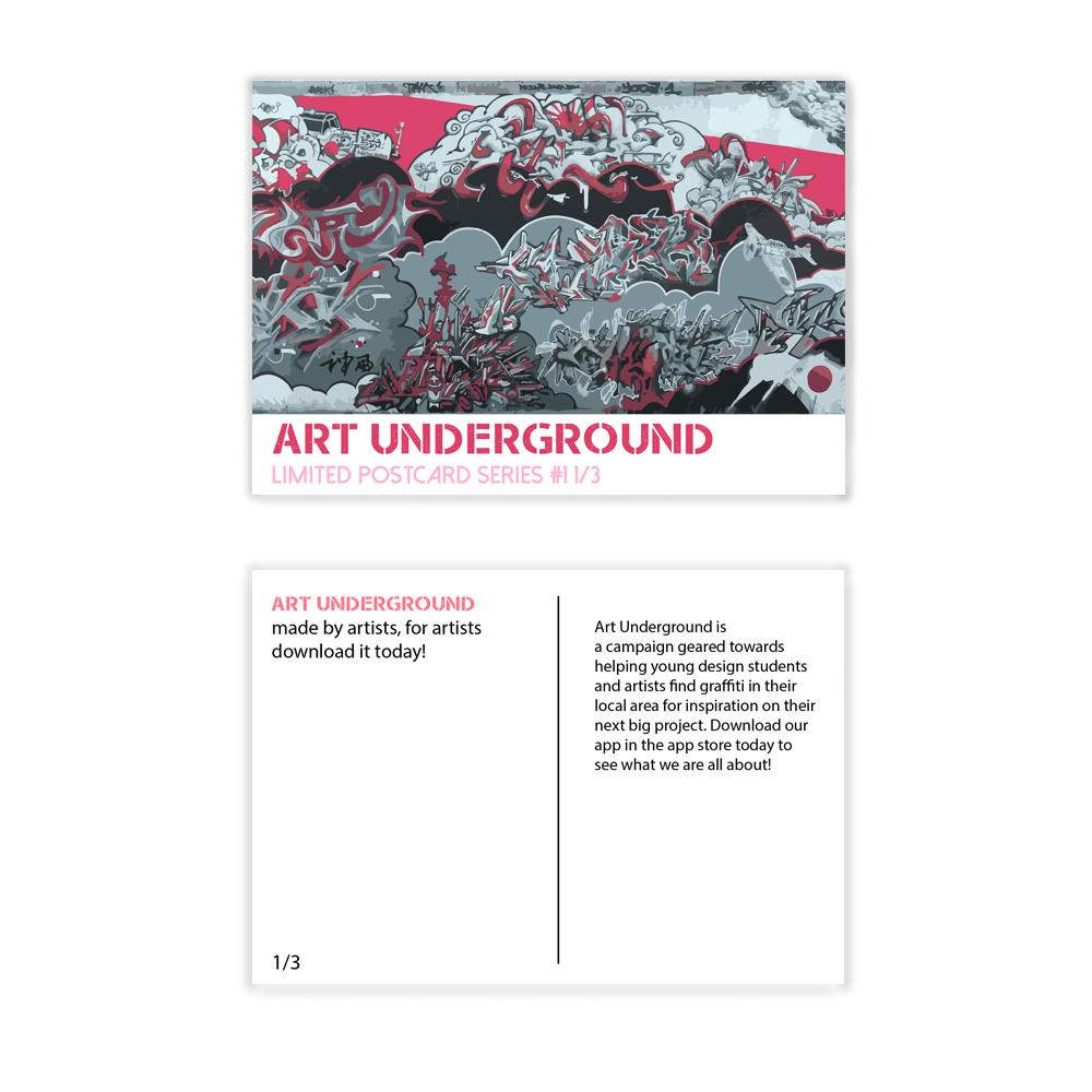 Art Underground Promo Cards