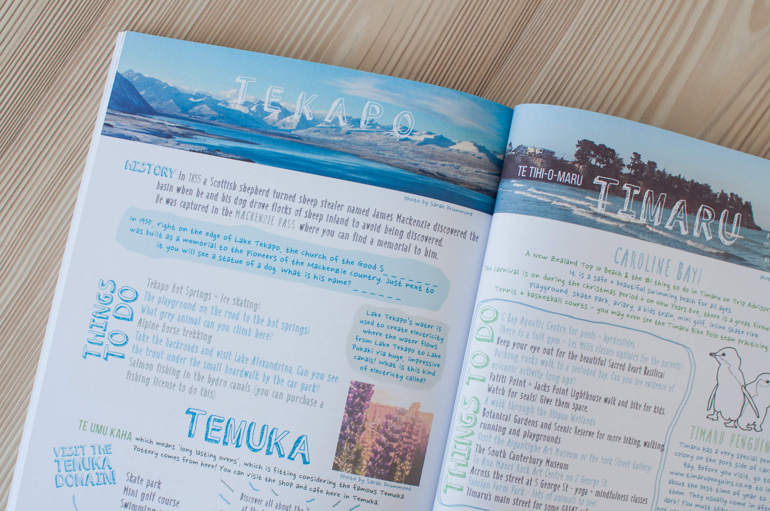 Want to learn more about Lake Tekapo and Timaru?