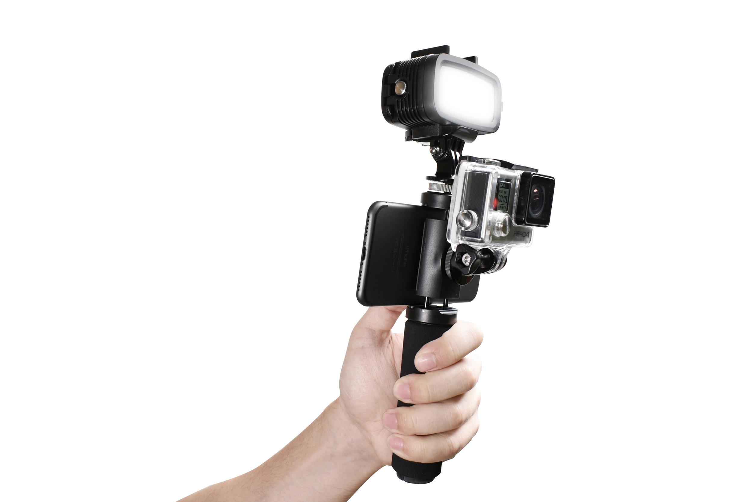 PIca-Gear Pica-Grip ultimate action cam handle gear organizer