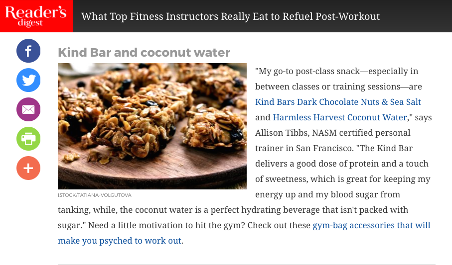 Entire Article:  http://www.rd.com/health/wellness/workout-recovery-foods/