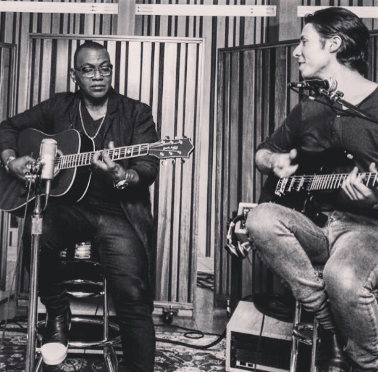 Recording at Jim Henson Studios w Randy Jackson
