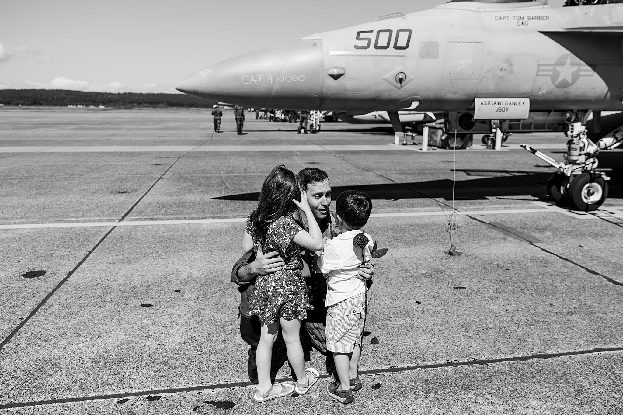 Military Homecoming Photographer | Oak Harbor, WA