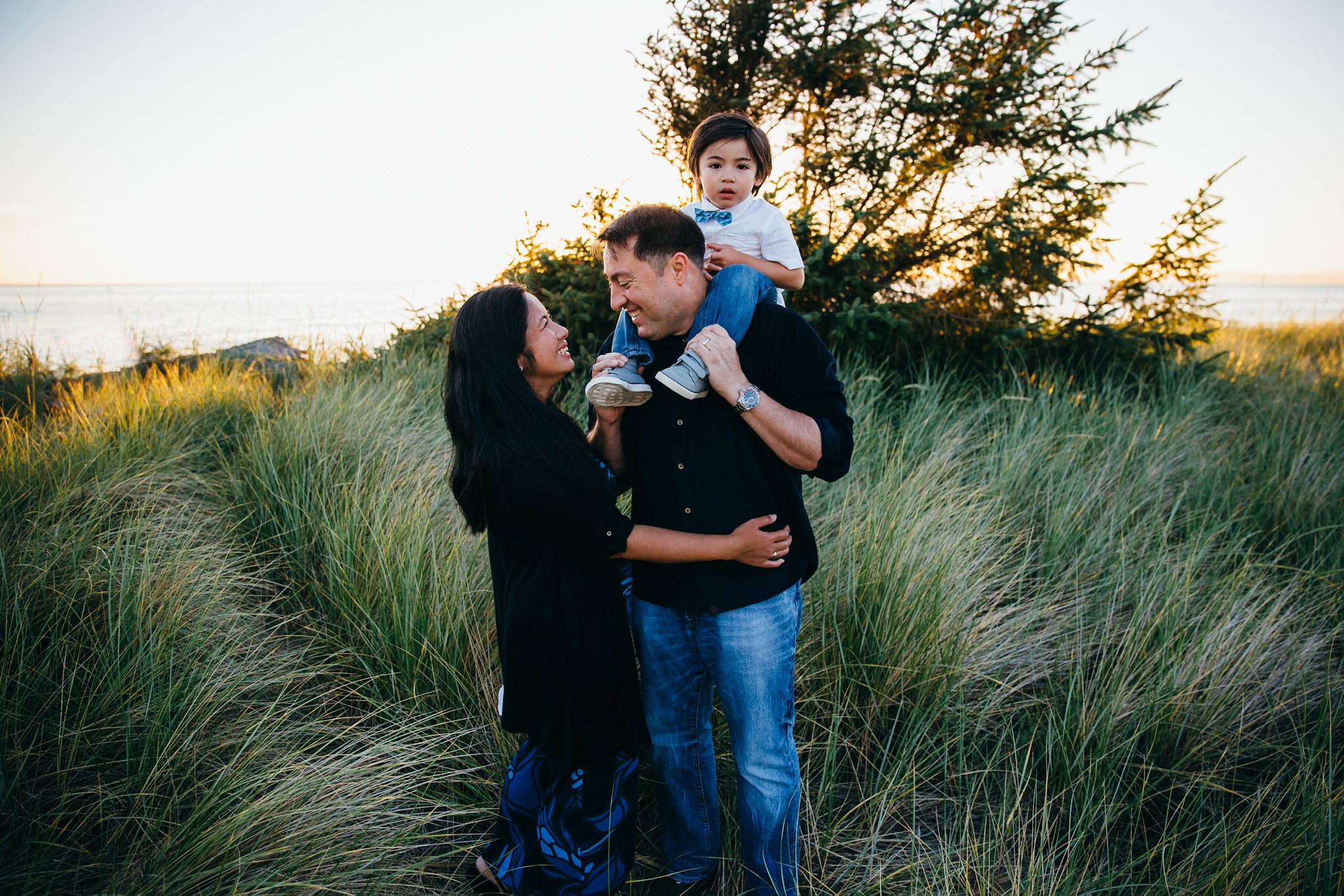 Deception Pass Sunset Family Pictures | Whidbey Island Photographer