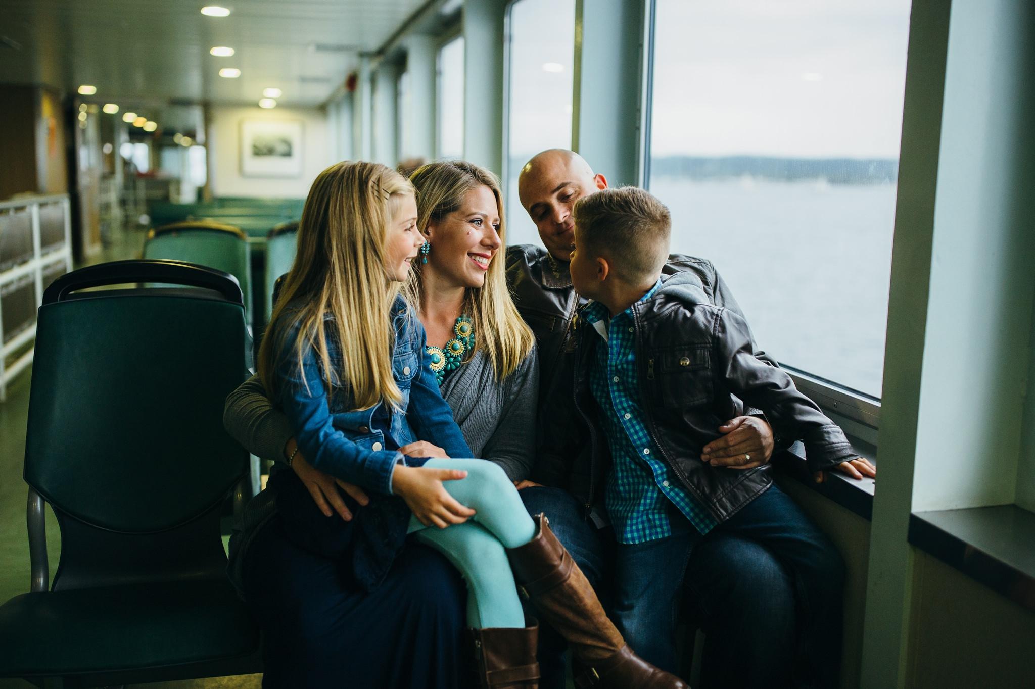 Washington Ferry Session   Whidbey Island Family Photographer