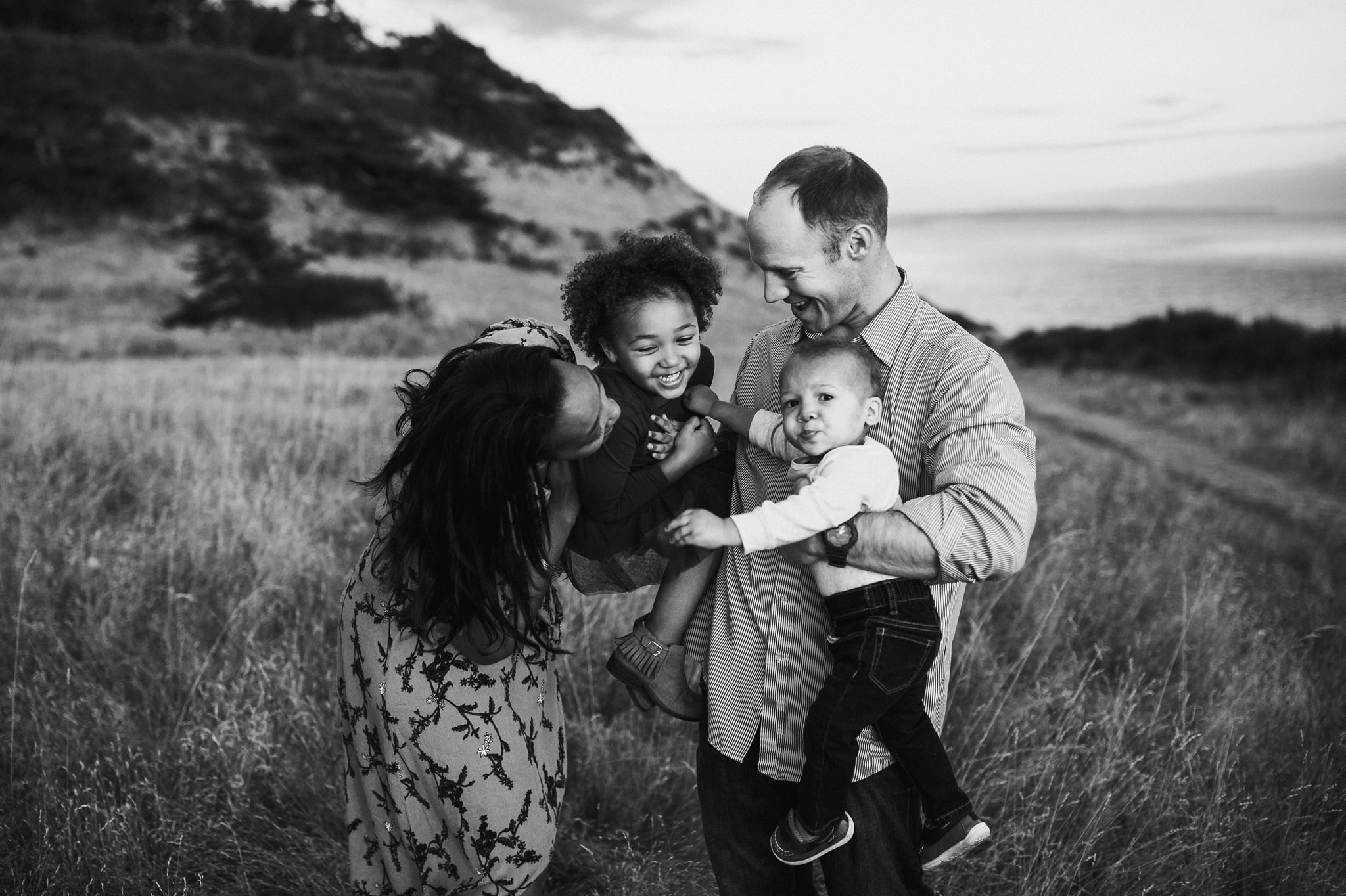 Fort Ebey family photography session on Whidbey Island