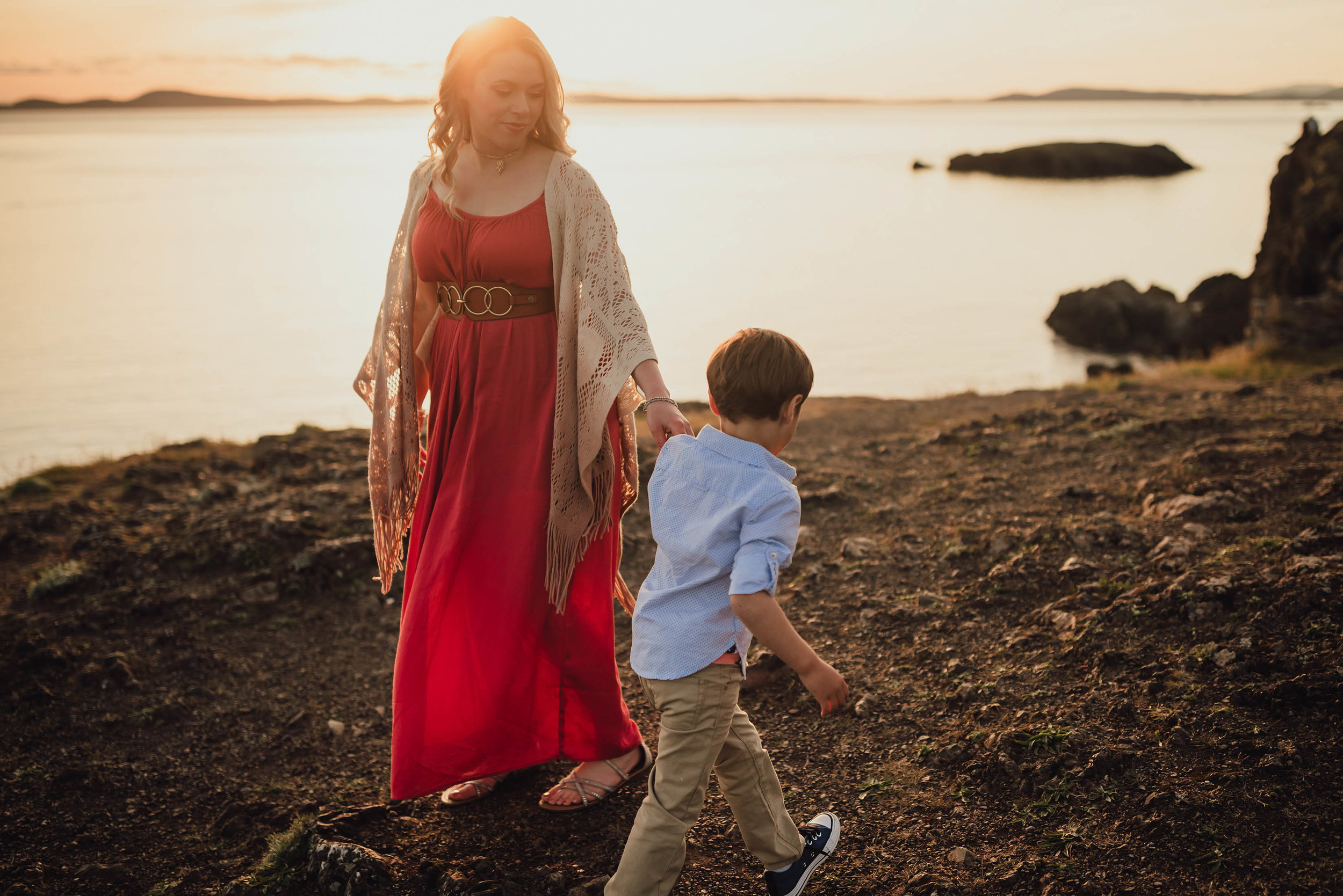 family session Rosario Bay | Kara Chappell Photography