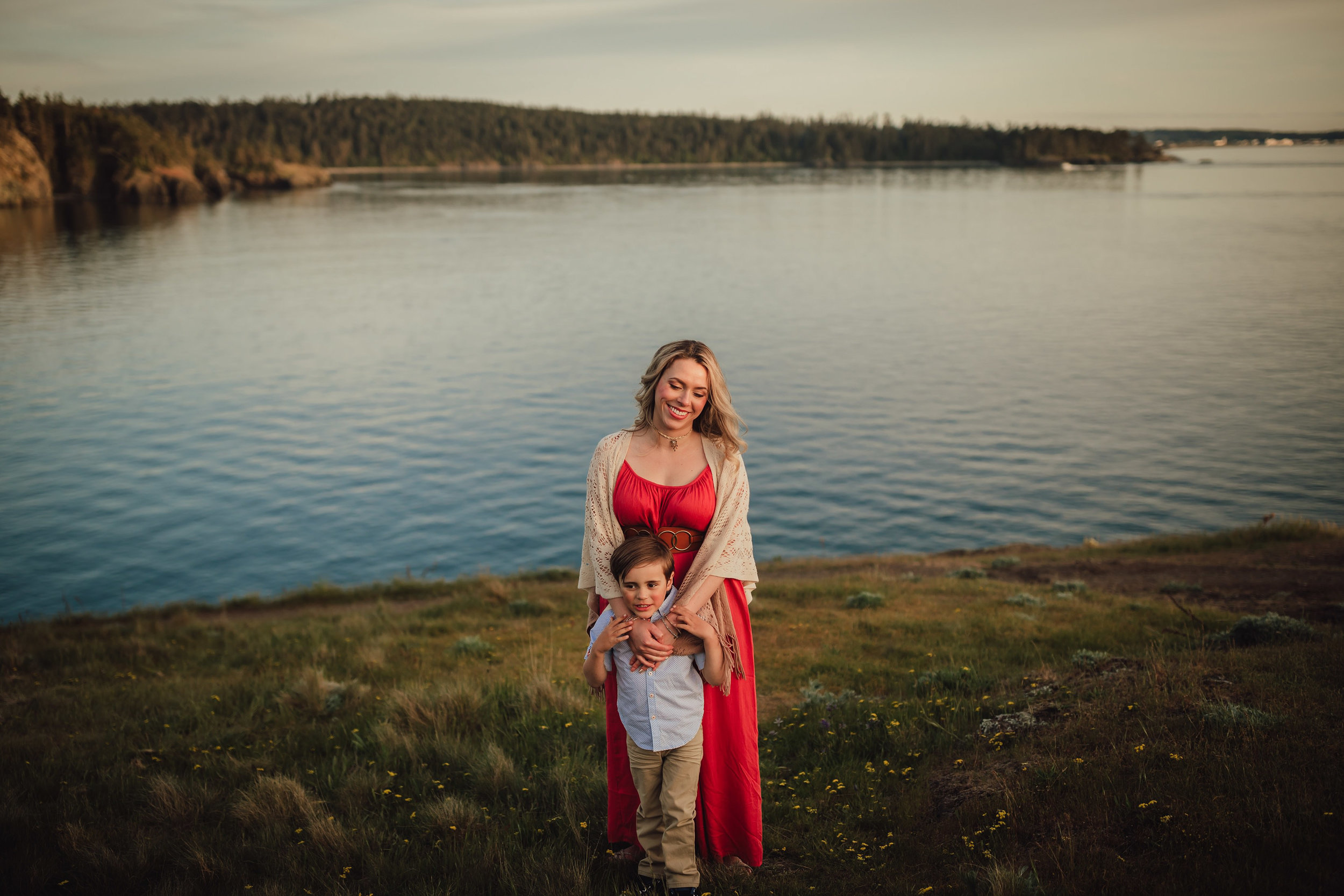 Whidbey Island family session | Kara Chappell Photography