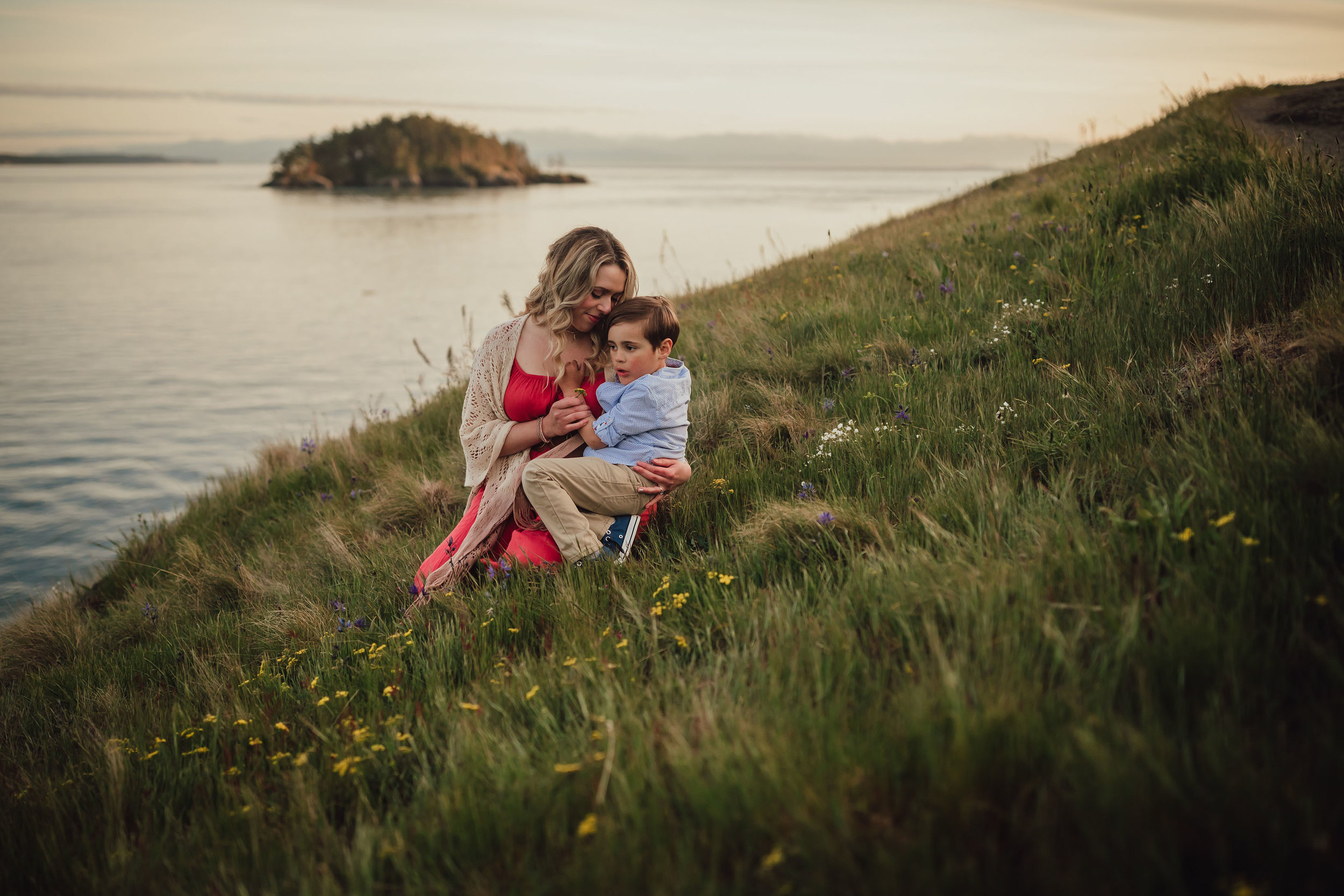 Whidbey Island family photo session | Motherhood Mini Session