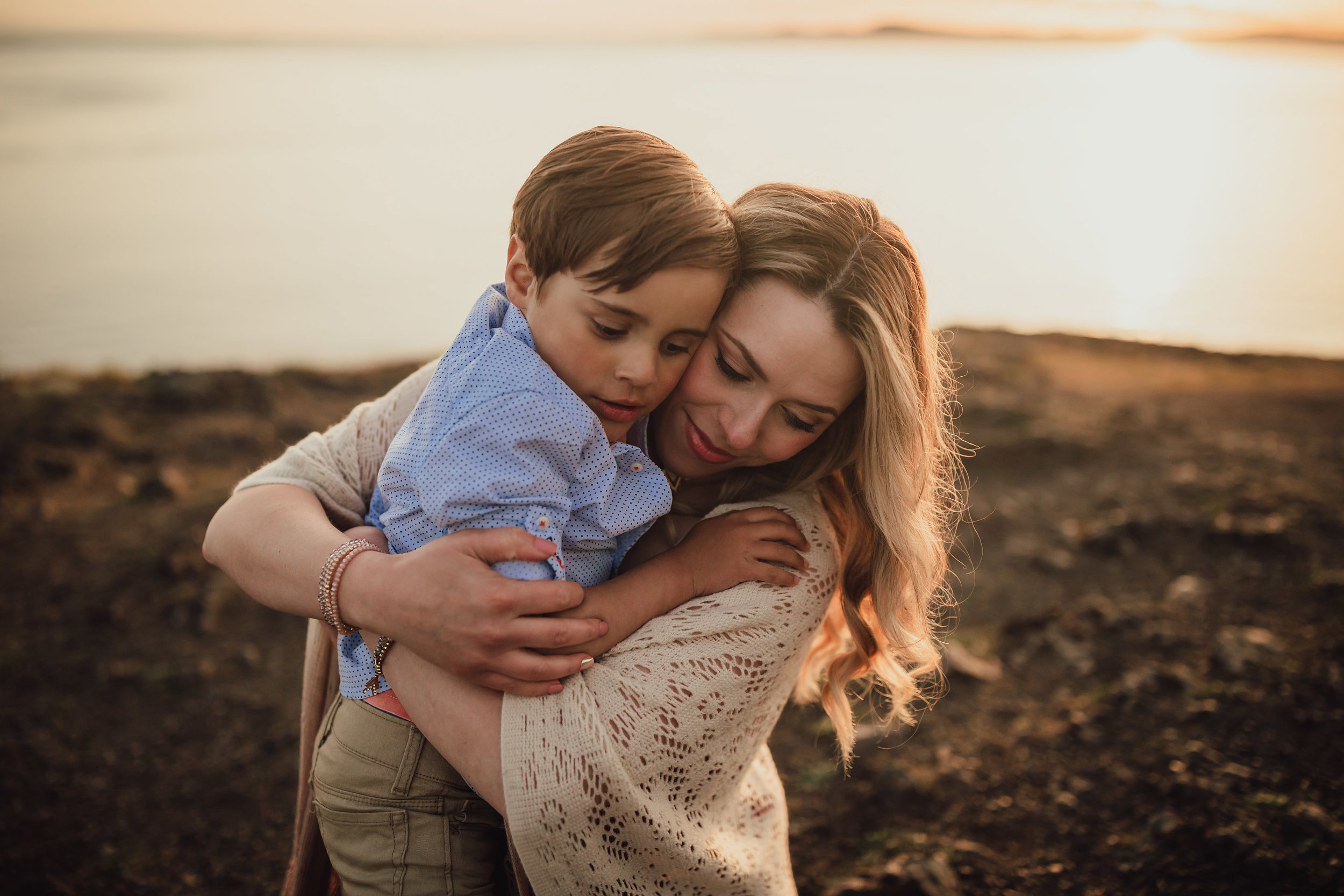 Whidbey Island Family Photos | Rosario Bay | Kara Chappell Photography