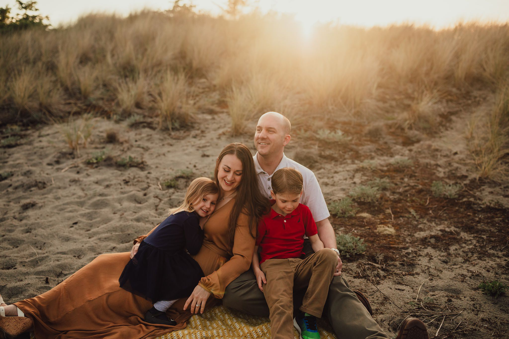 family portraits at deception pass
