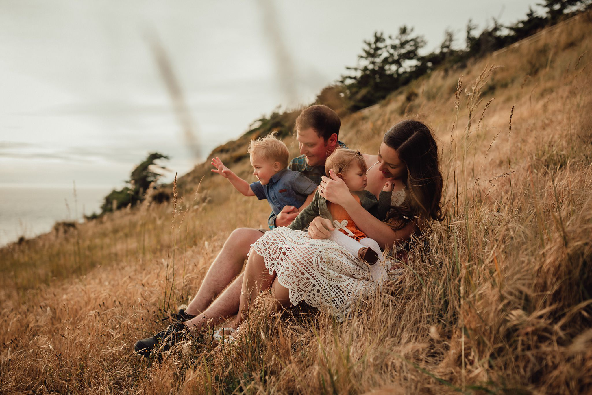 lifestyle portraits at fort ebey state park