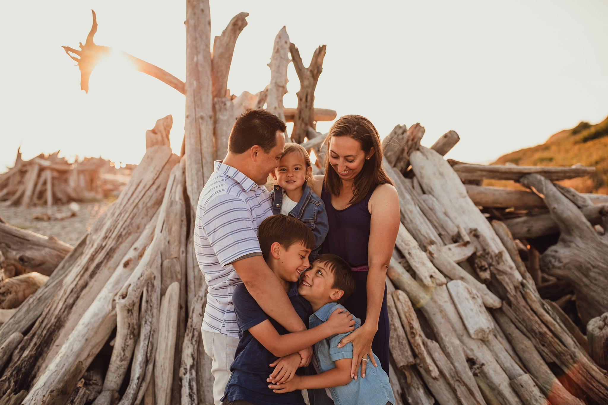 Fort Casey State Park family photographer