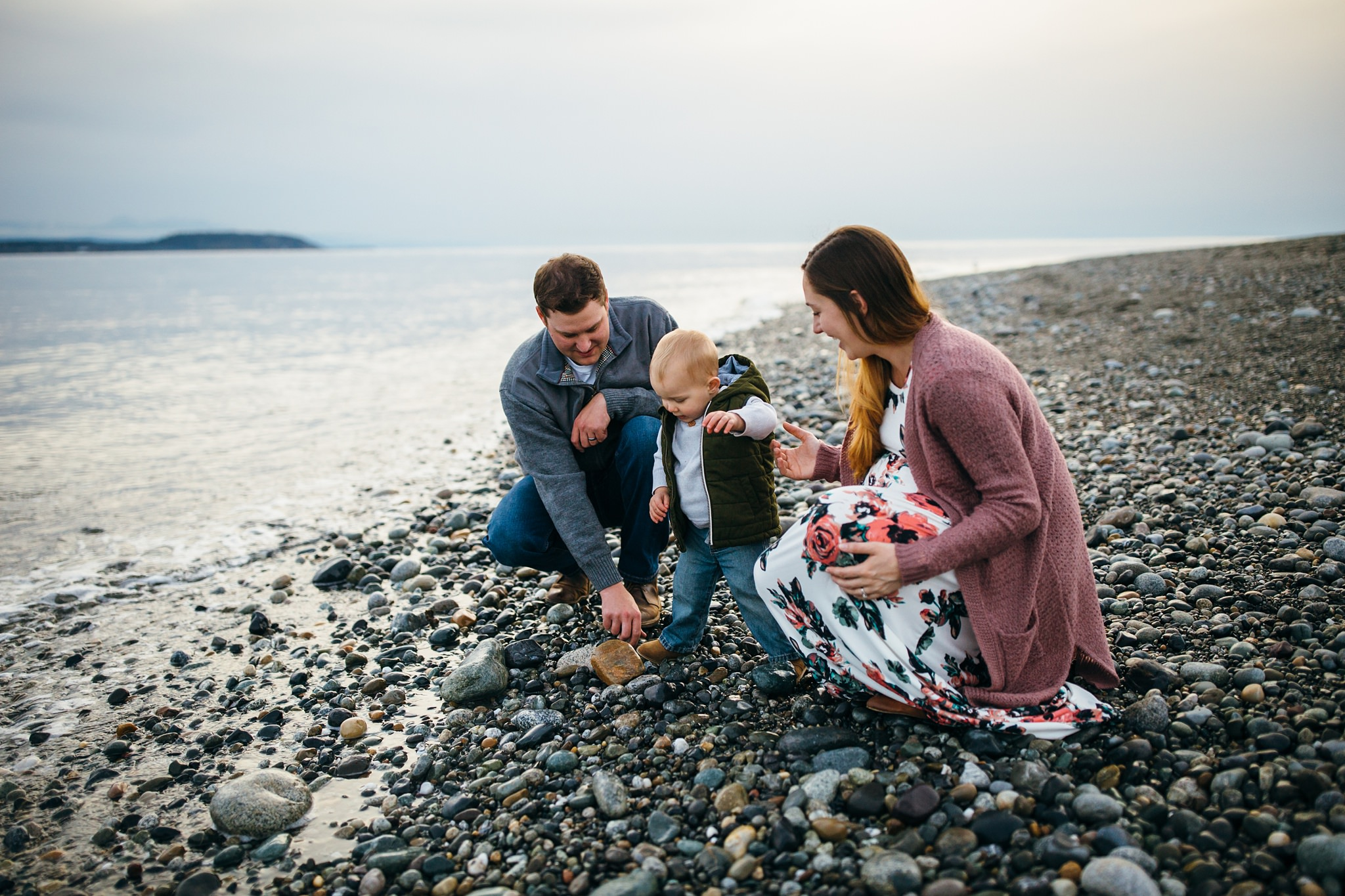 lifestyle portraits at Fort Casey State Park