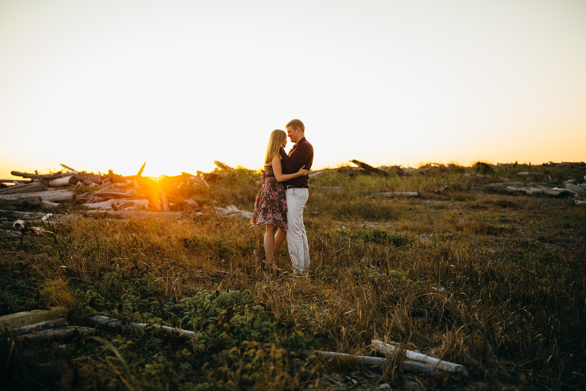 Fort Casey State Park golden hour photographer
