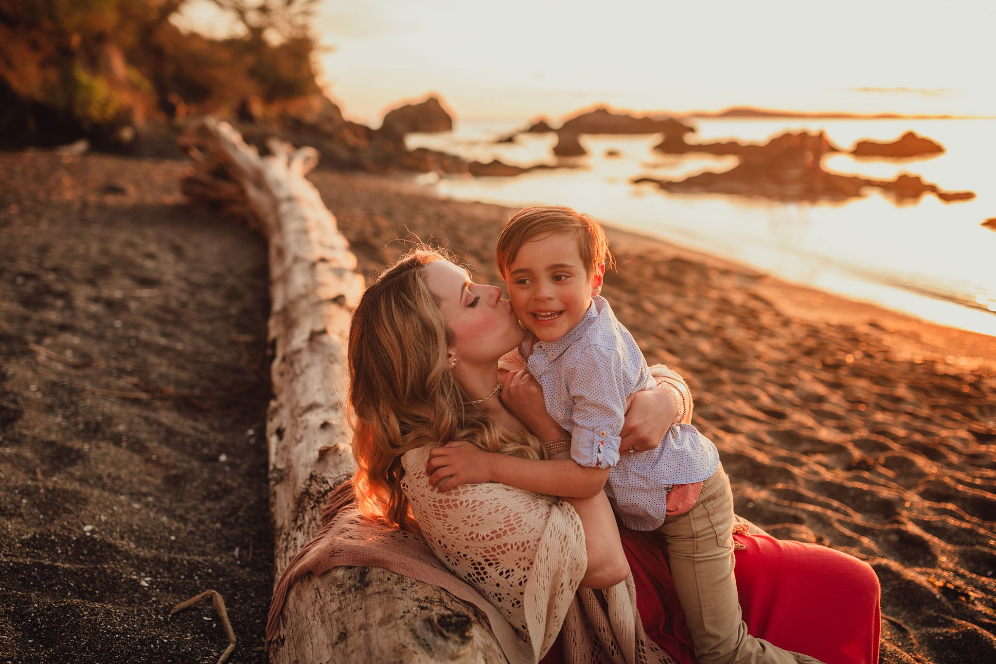 best family pictures at rosario bay