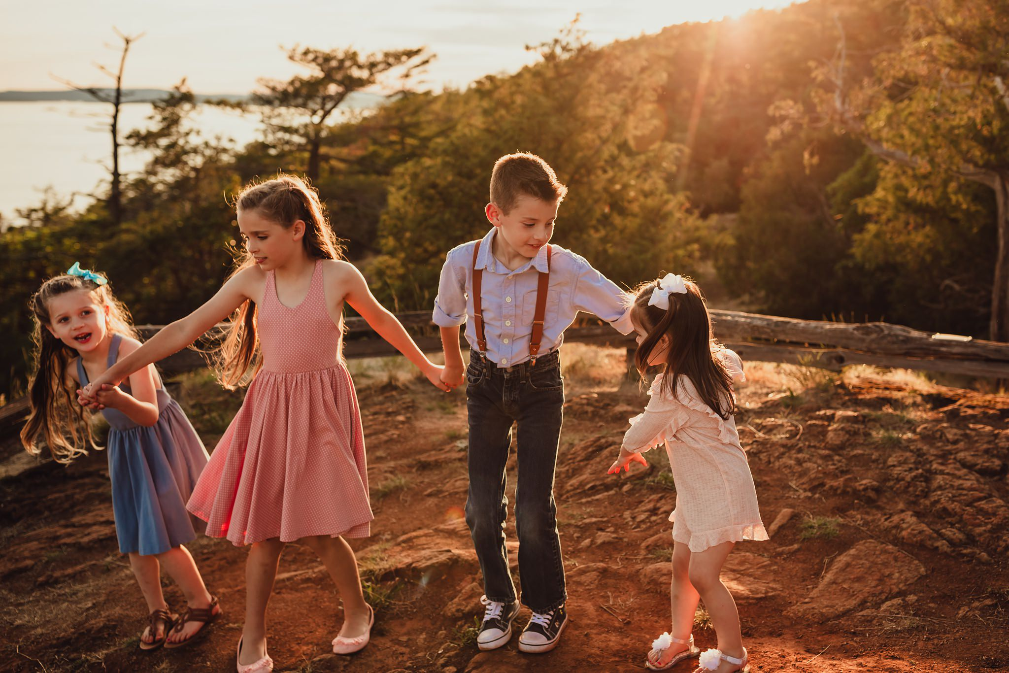 Washington Park Anacortes family portraits