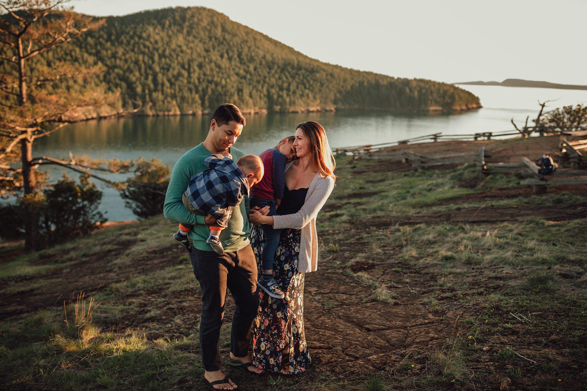 Washington Park Anacortes family photographer