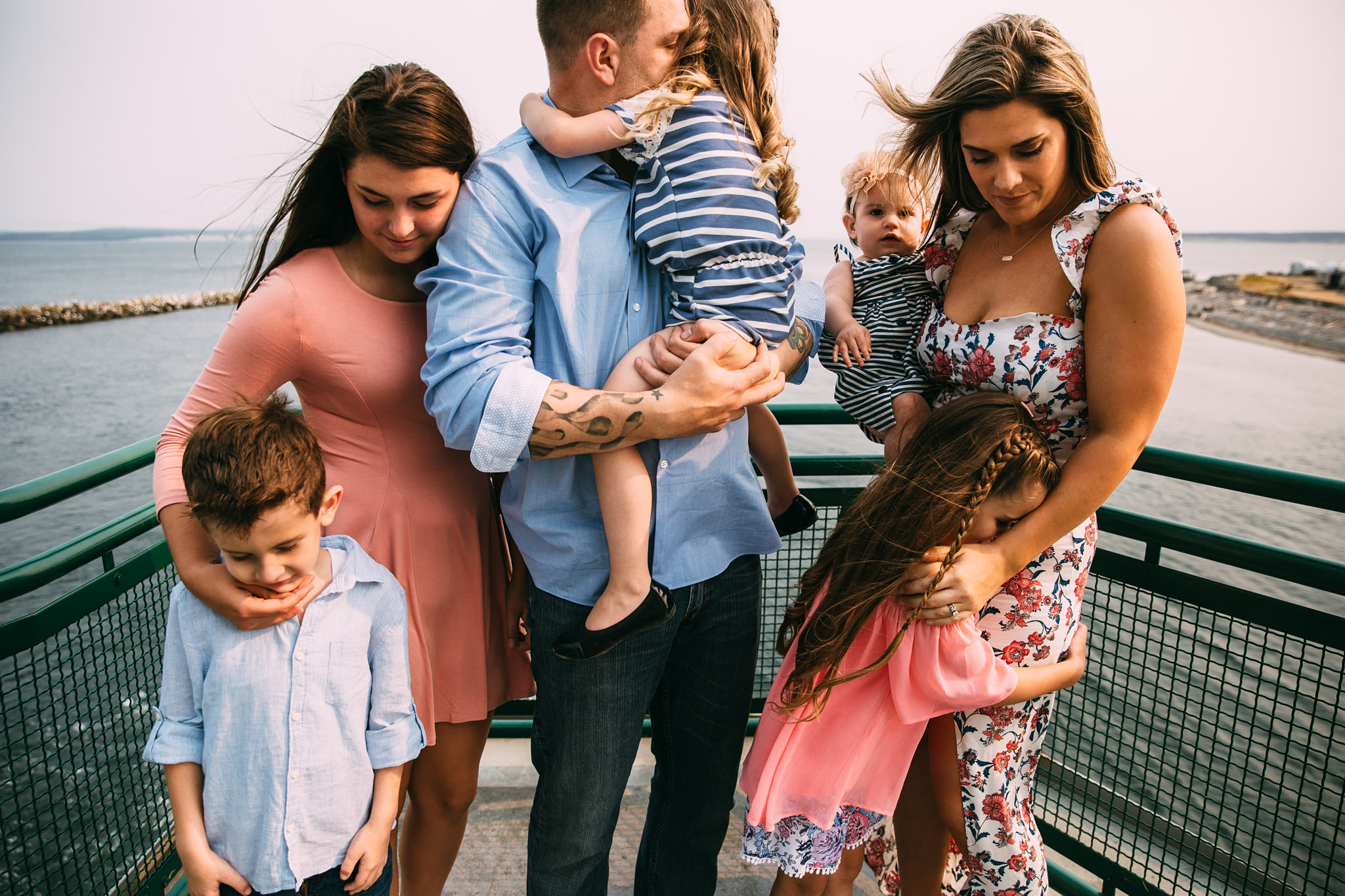best Port Townsend Ferry family photographers