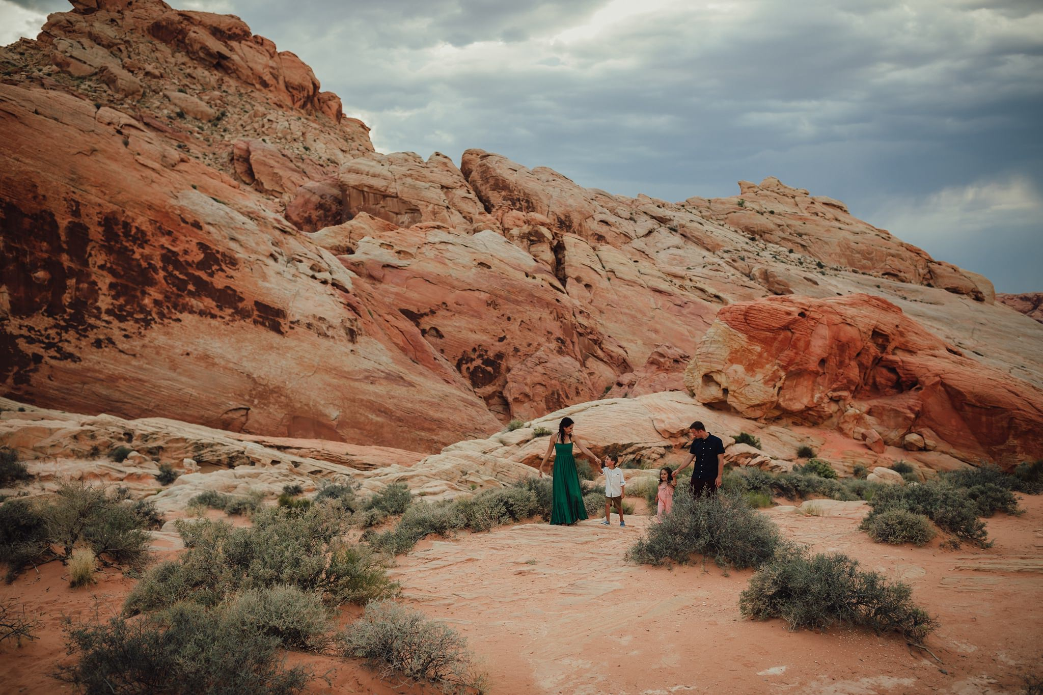valley of fire family portraits