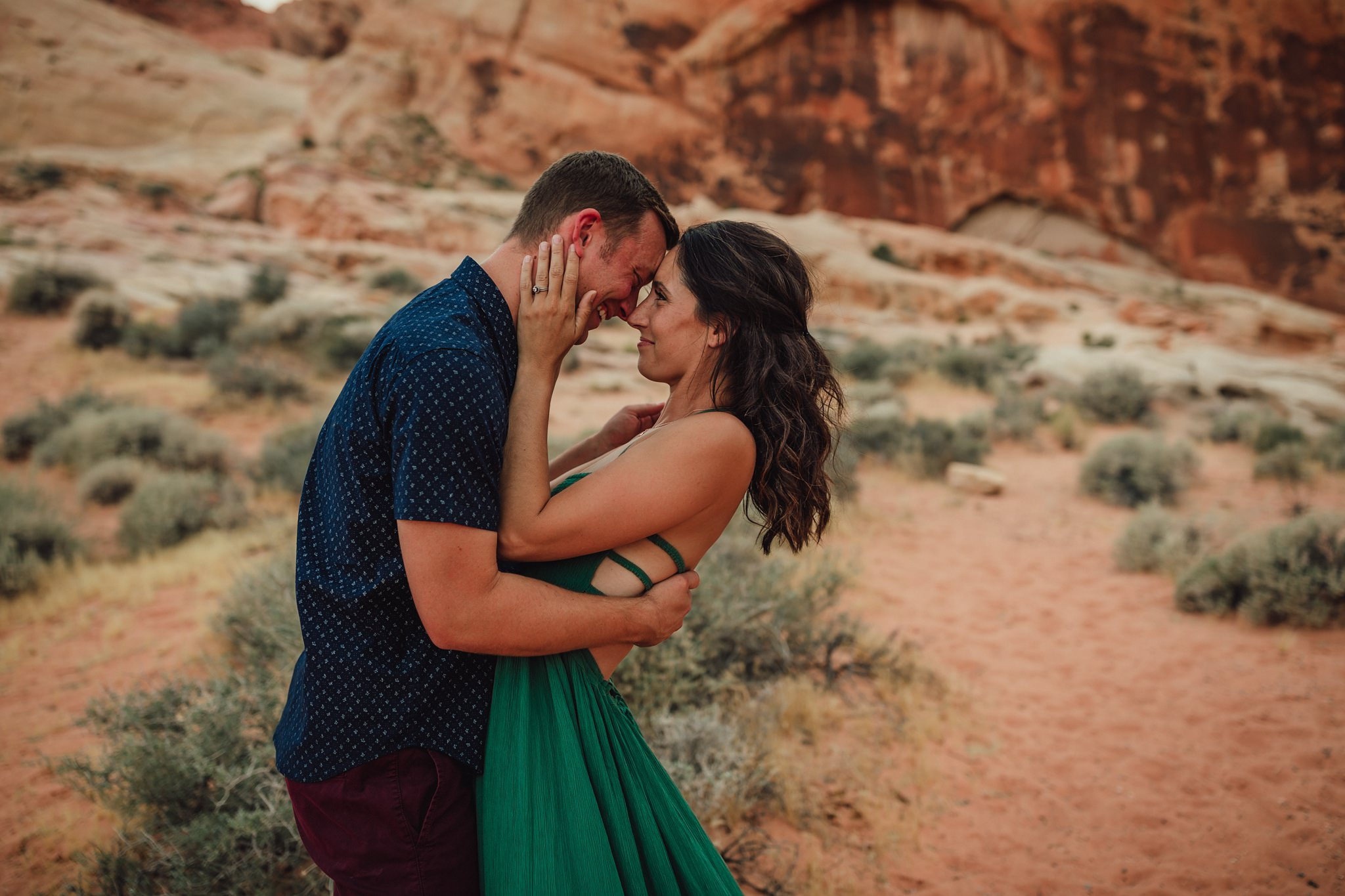 family pictures at valley of fire