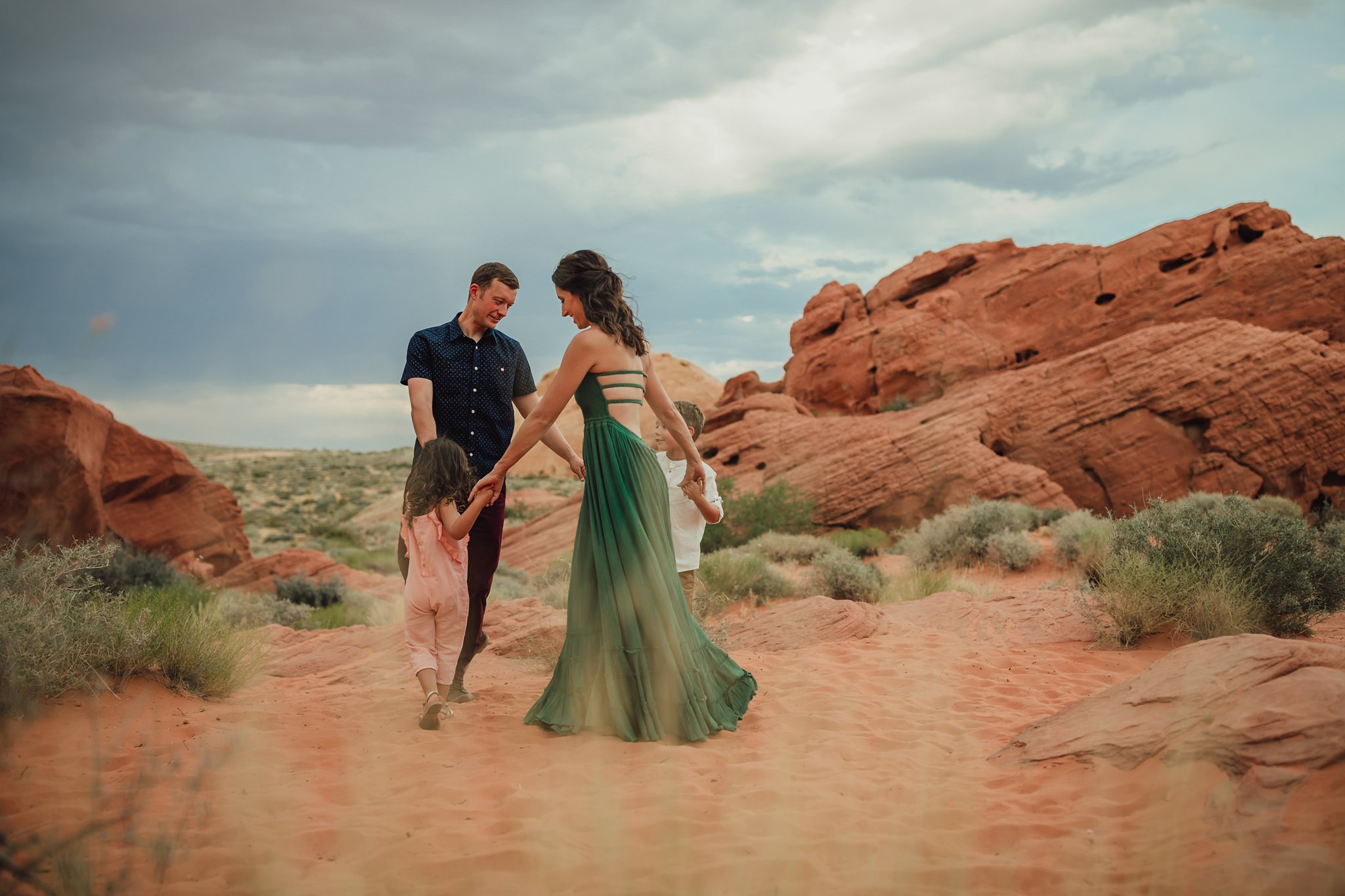 lifestlye portraits at valley of fire