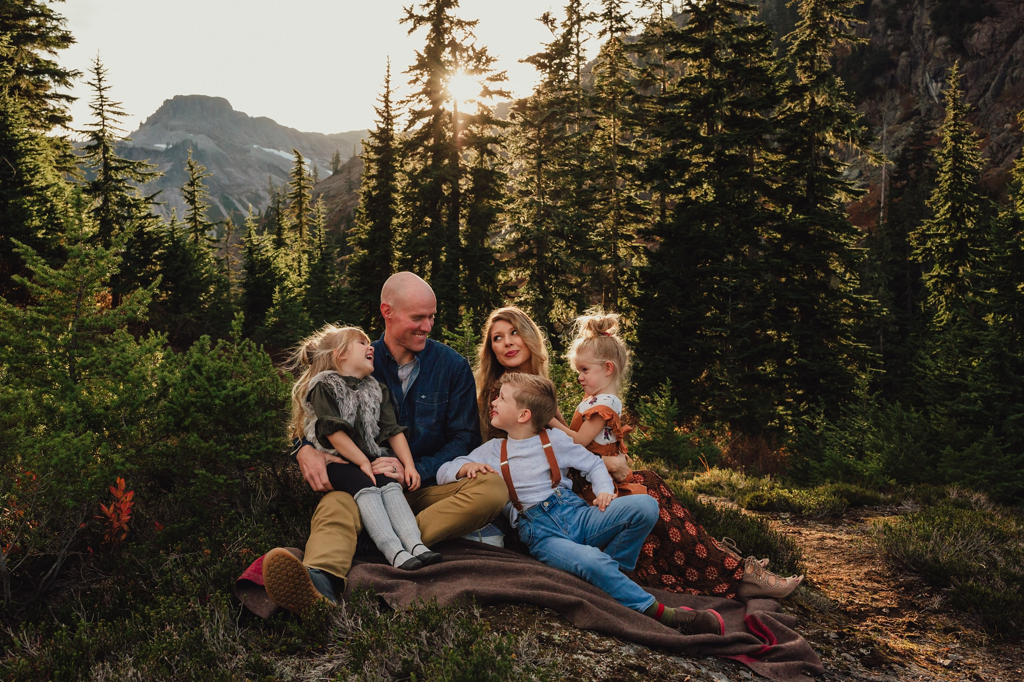 mount baker family portraits
