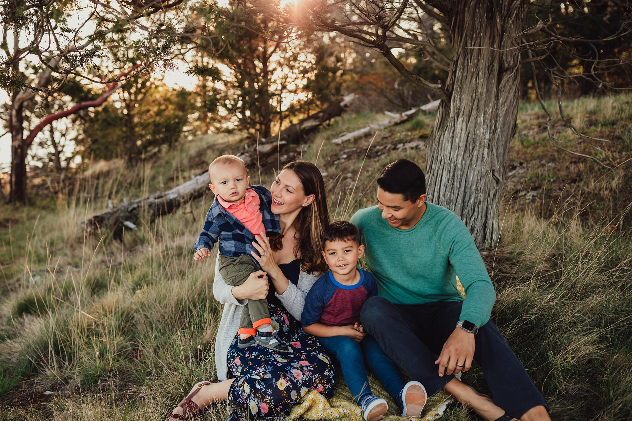 family photo session with Kara Chappell Photography