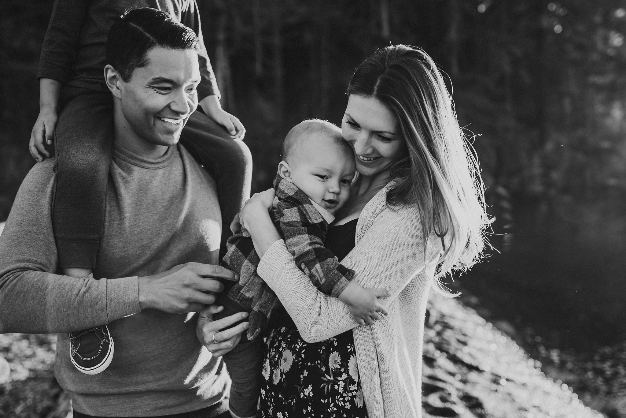 Whidbey Island family photo shoot