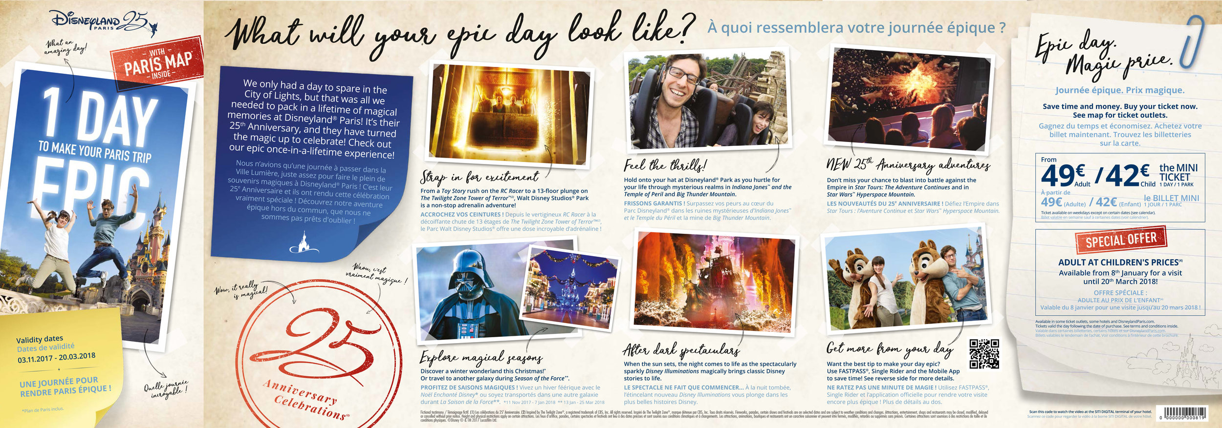 Disneyland Paris - brochure excerpt
