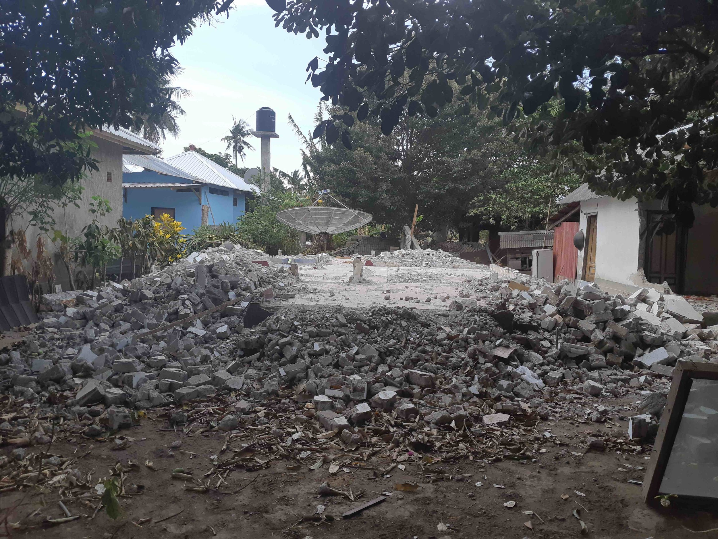 James Buchanan | This local home was knocked down to revel the  kampung  satellite