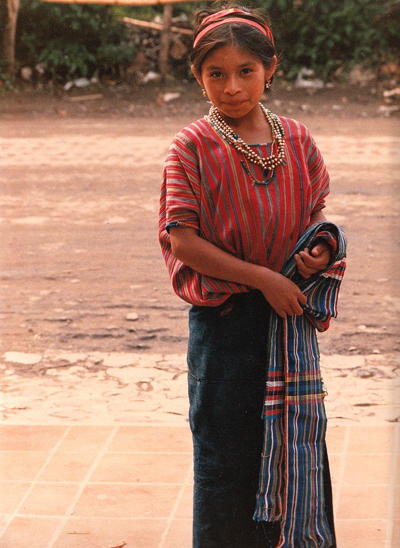 Guatemala--indigenous_woman,_ikat_clothing.jpg