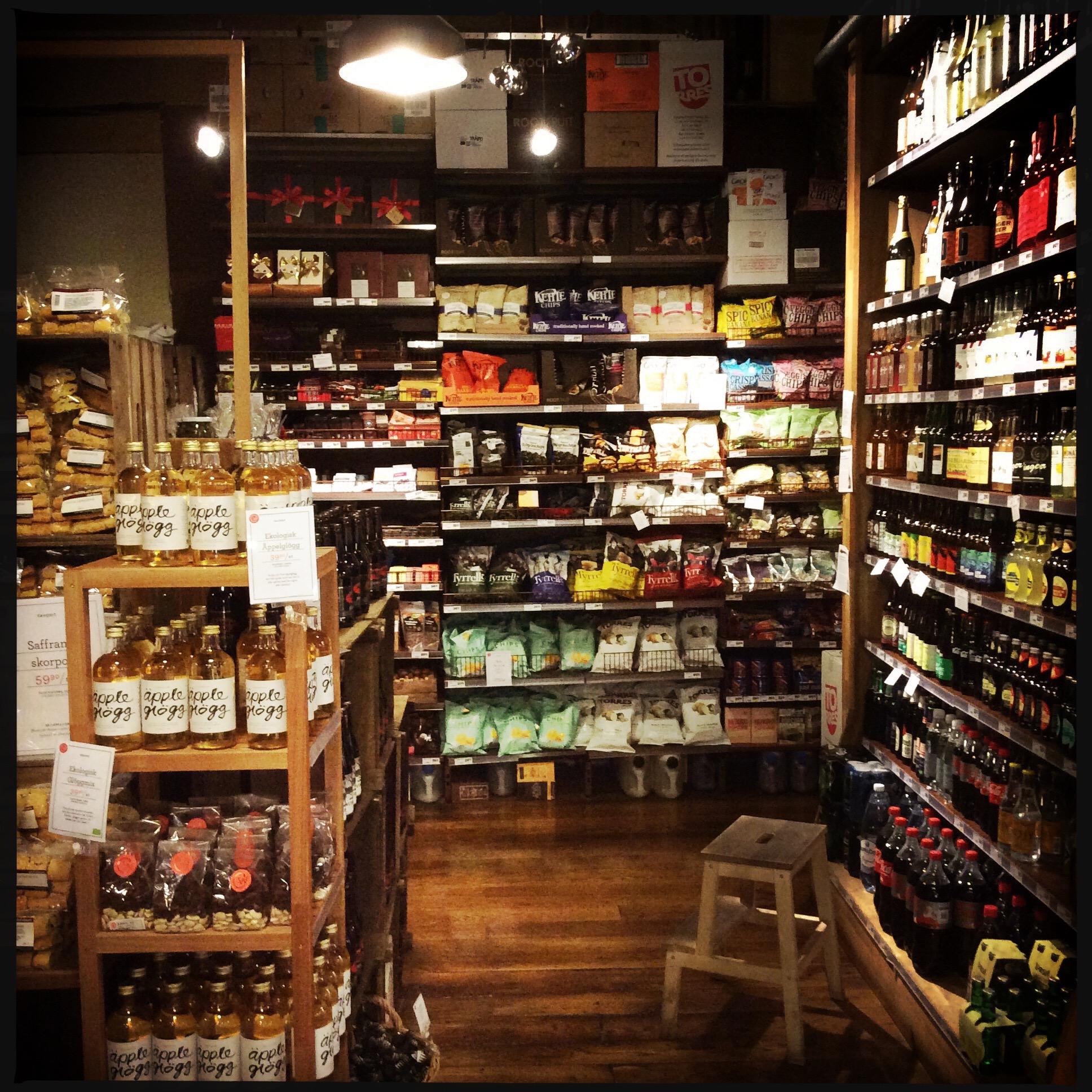 Supermarkt in stockholm